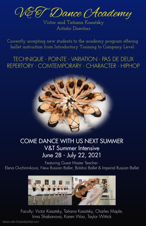 V & T Dance Academy Summer Intensive